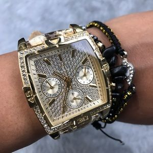 Guess | Rhinestone Gold Women's Watch